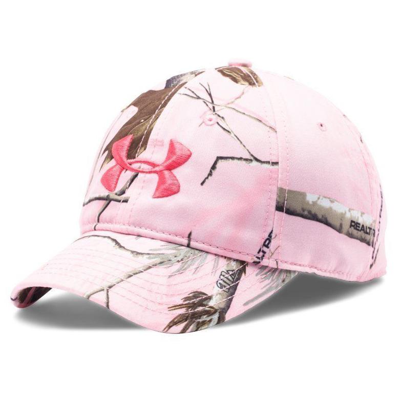 Under Armour Women's Pink Realtree AP Camo/Perfection UA Snap Back Cap 13965