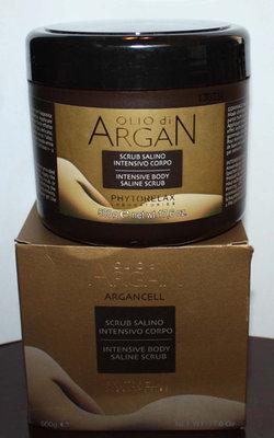 Phytorelax OLIO di ARGAN Intensive Body Saline Scrub 17.6 oz