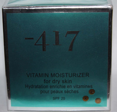 Minus -417 Dead Sea Cosmetics Vitamin Moisturizer For Dry Skin 1.7 oz