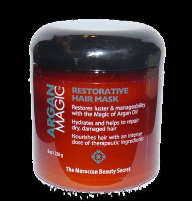 ARGAN MAGIC Restorative Hair Mask 8 fl oz