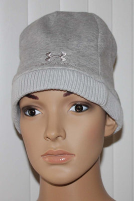 Under Armour STORM Women's Coldgear Water-Resistant Gray Beanie Hat (One Size)