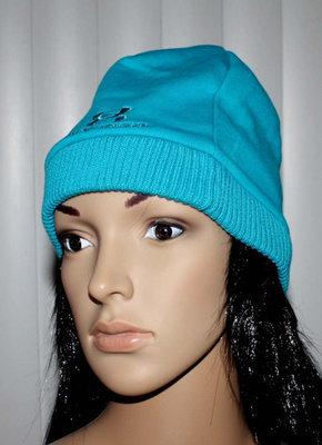 Under Armour STORM Women's Coldgear Water-Resistant Aqua Beanie Hat (One Size)