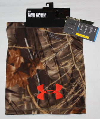 Under Armour UA HUNT Men's RealTree Max 4 Camo Fleece Neck Gaiter (One Size)