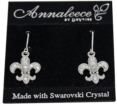 Annaleece By Devries ROYAL FLEUR DE LIS Earrings
