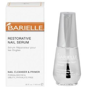 Barielle Restorative Nail Serum Nail Cleanser & Primer .50 oz