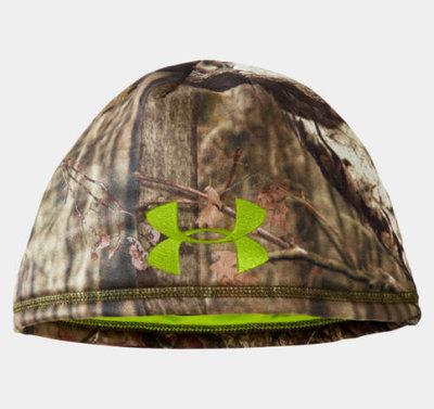 Under Armour Men's UA DEADCALM Mossy Oak Break-Up Infinity Camo Beanie Hat (Large/X-Large)