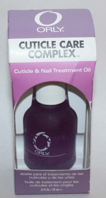 ORLY CUTICLE CARE COMPLEX Cuticle & Nail Treatment Oil