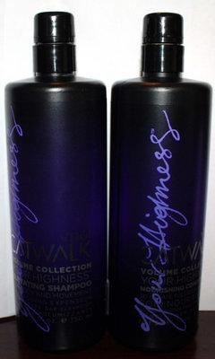 TIGI Catwalk VOLUME COLLECTION Elevating Shampoo & Nourishing Conditioner 25.36 oz Ea