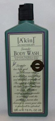 A'Kin Aromatherapy Lavender Body Wash 7.6 oz