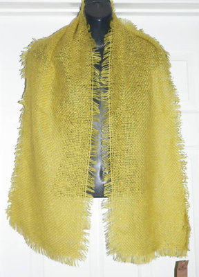Hollister Women's Green Scarf *Reduced*