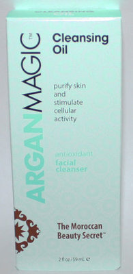 Argan Magic Cleansing Oil Antioxidant Facial Cleanser 2 oz