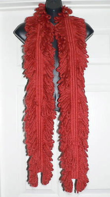 Abercrombe & Fitch Women's Rust Scarf  *Reduced*