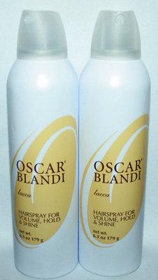 Lot Of 2 Oscar Blandi Hairspray For Volume, Hold & Shine 6.3 oz each