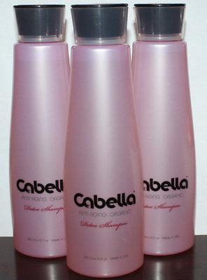Lot Of 3 Cabella Anti Aging Organic Detox Weekly Shampoo 10 oz Each
