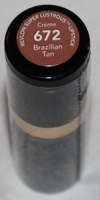 Revlon Super Lustrous CREME Lipstick .15 oz  -Brazilian Tan #672