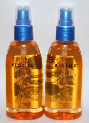 Lot Of 2 Biosilk Hydrating Therapy Maracuja Oil 4 oz Each