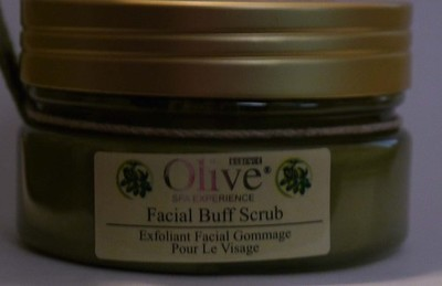 HOME SPA COLLECTION Olive Essence Facial Buff Scrub 4 oz