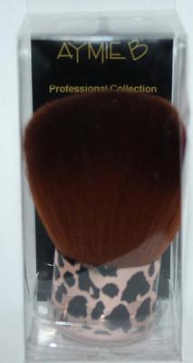 Aymie B' GOTTA B URBAN Metallic Leopard Print Kabuki Brush