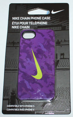 Nike CHAIN Swoosh Hard Phone Case For iPhone 5 #NIA98570NS