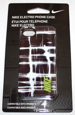 Nike ELECTRO Hard Phone Case For iPhone 5 #NIA99023NS