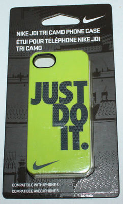Nike JDI TRI CAMO Just Do It Hard Phone Case For iPhone 5 #NIA84703NS