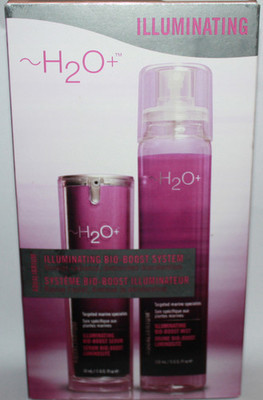 H2O+ Illuminating Bio-Boost System ~ Mist 5 oz Serum 1 oz *REDUCED*