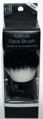 elf Studio Black & White Taklon KABUKI Face Brush #85011