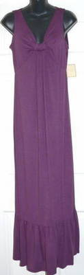 Johnathan Martin Women's Purple Wine Dress (Size 10) *Reduced*