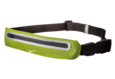 Nike Volt/Black Reflective Expandable Lean Running Waistpack