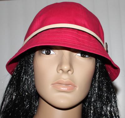 Coach Women's SV/Berry SPRING Bucket Hat F82379 (Medium/Large)