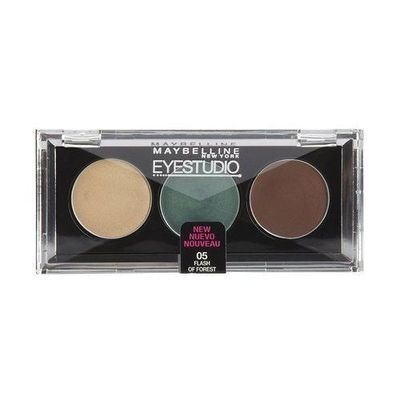 Maybelline New York EYESTUDIO Cream Eyeshadow Trio #05 FLASH OF FOREST .10 oz