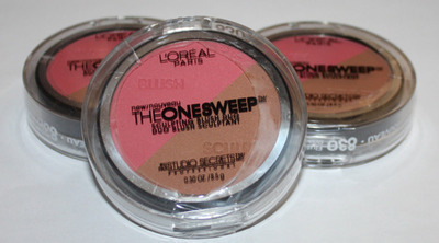 Lot Of 3 L'Oreal The One Sweep Sculpting Blush Duo FLUSH 0.30 oz Each