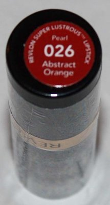 Revlon Super Lustrous Pearl Lipstick .15 oz  -Abstract Orange #026