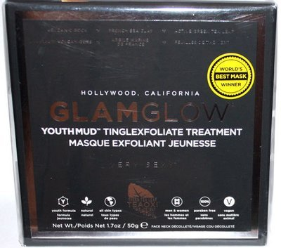 GLAMGLOW Youthmud Tinglexfoliate Mask Treatment, 1.7 oz *Reduced*.