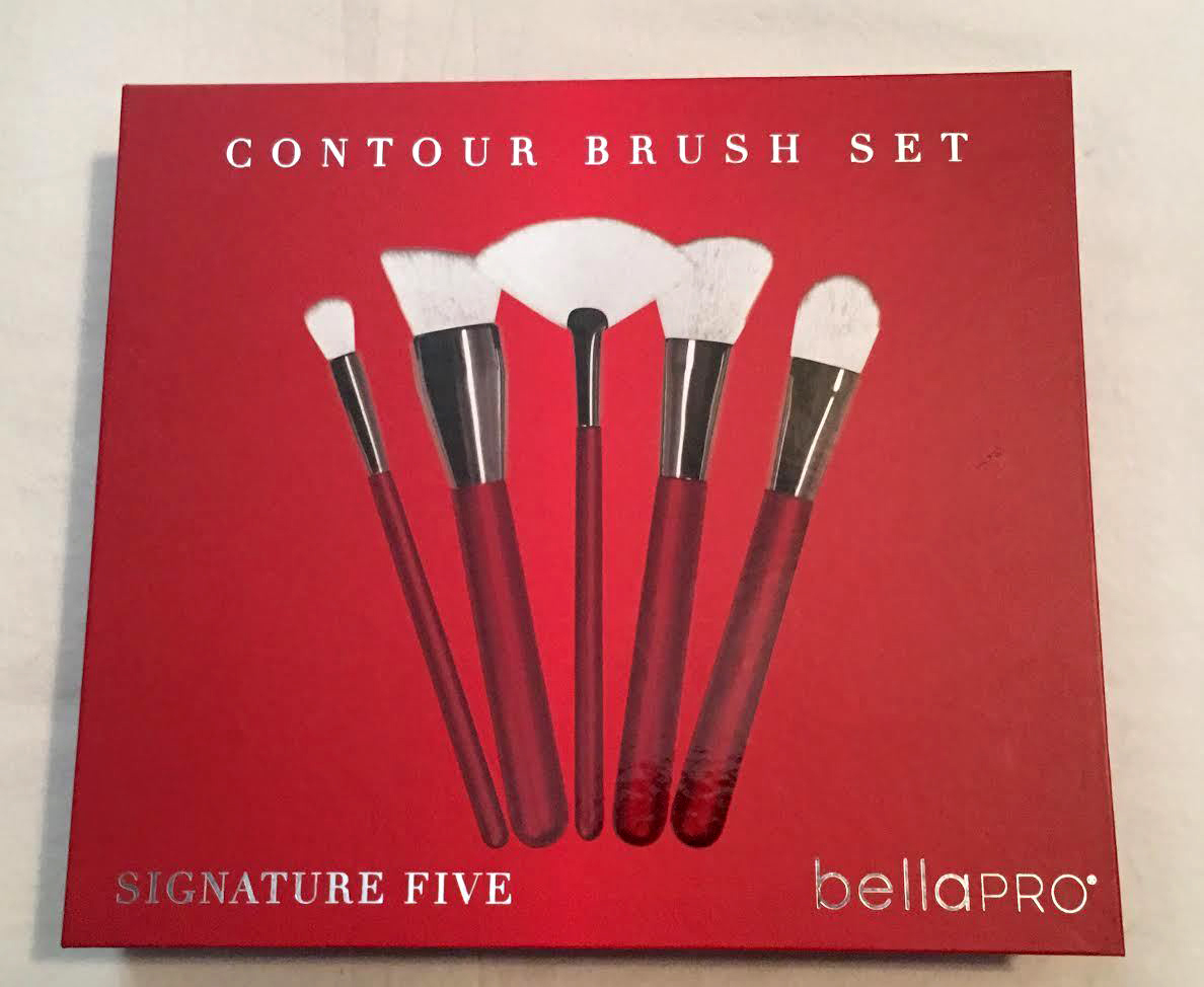 Bella Pro Signature Five Red Contour Brush Set 14054