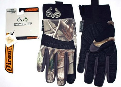 Ironclad Men's COLD CONDITION AP Realtree Camo Gloves #RT-CCG (Several Sizes)