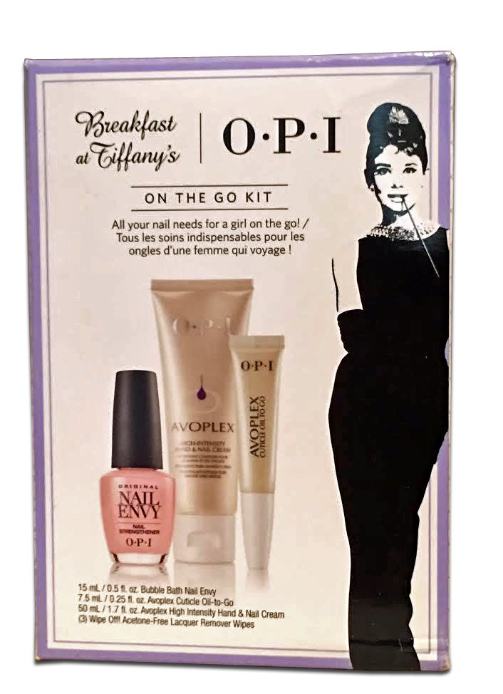 OPI Breakfast at Tiffany's On The Go Kit 14276