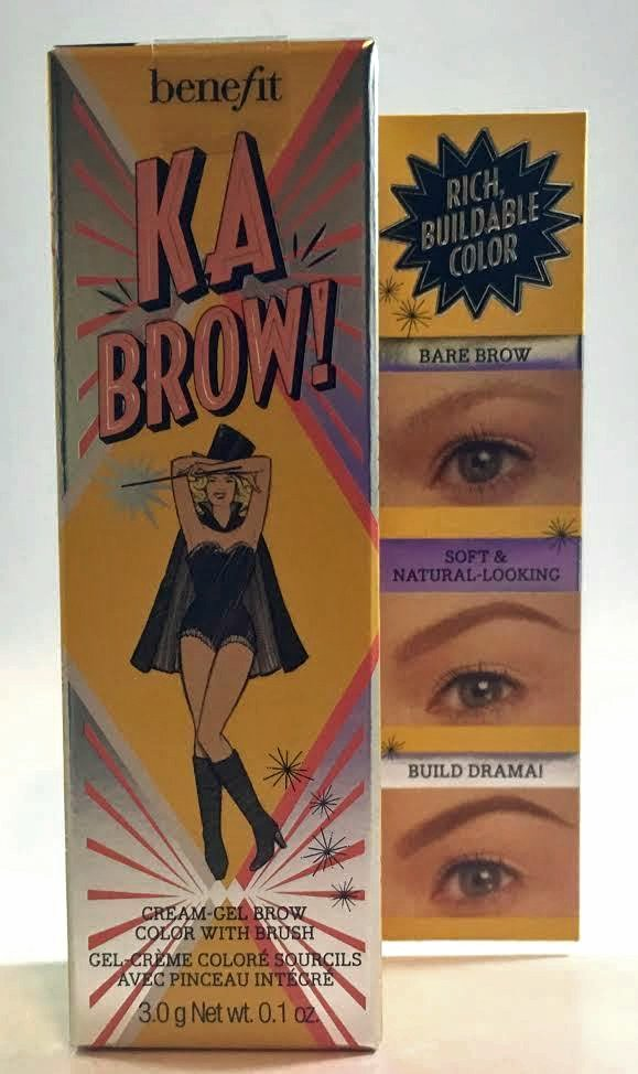 Benefit Cosmetics ka-BROW! Cream-Gel Eyebrow Color With Brush 0.1 oz - 02 Light