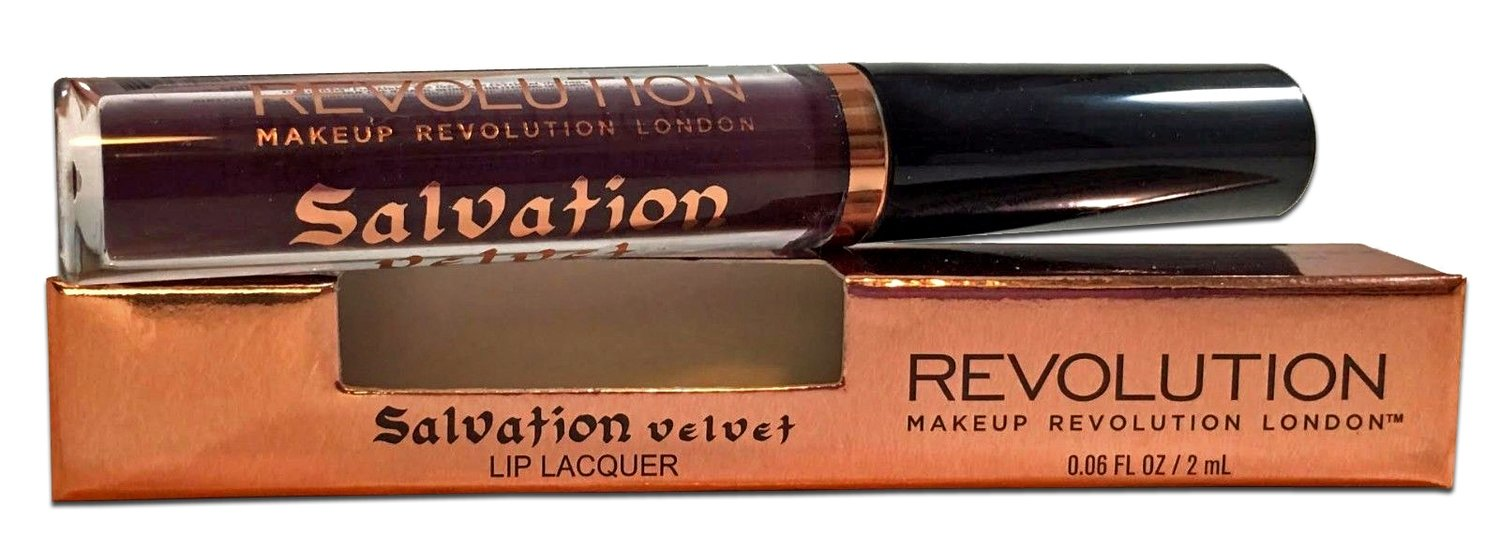 MAKEUP REVOLUTION Salvation Intense Lip Lacquer 0.06 oz - Vamp