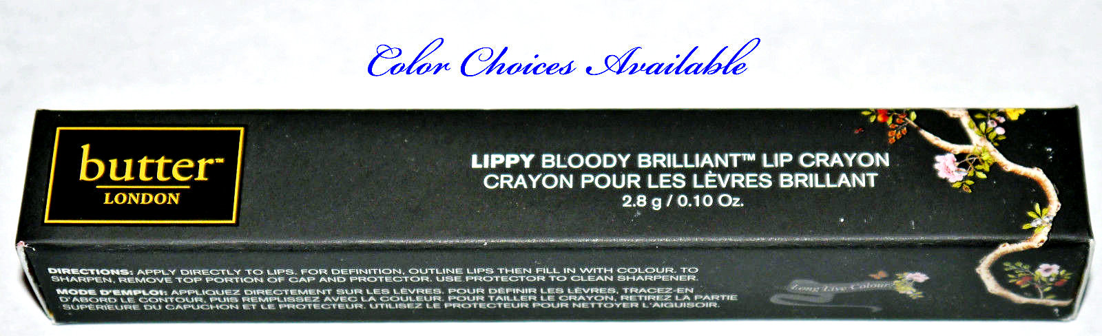 Butter London LIPPY Bloody Brilliant Lip Crayon 0.10 oz 14419