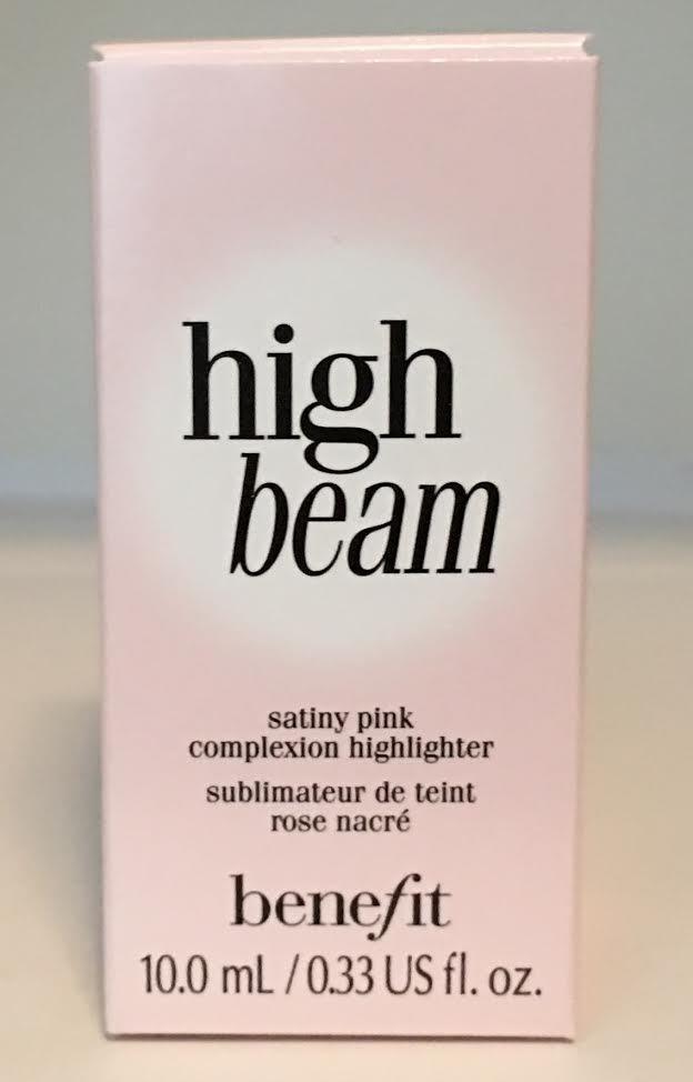 Benefit Cosmetics High Beam Satiny Pink Liquid Complexion Highlighter 0.33 oz 14497