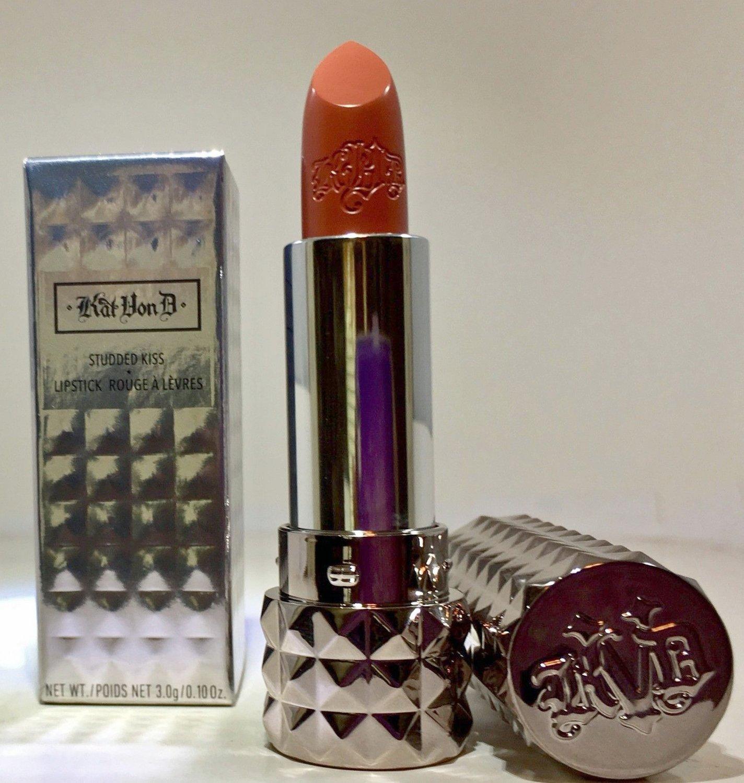 Kat Von D Studded Kiss Lipstick 0.10 oz - Lolita II (terra cotta nude)