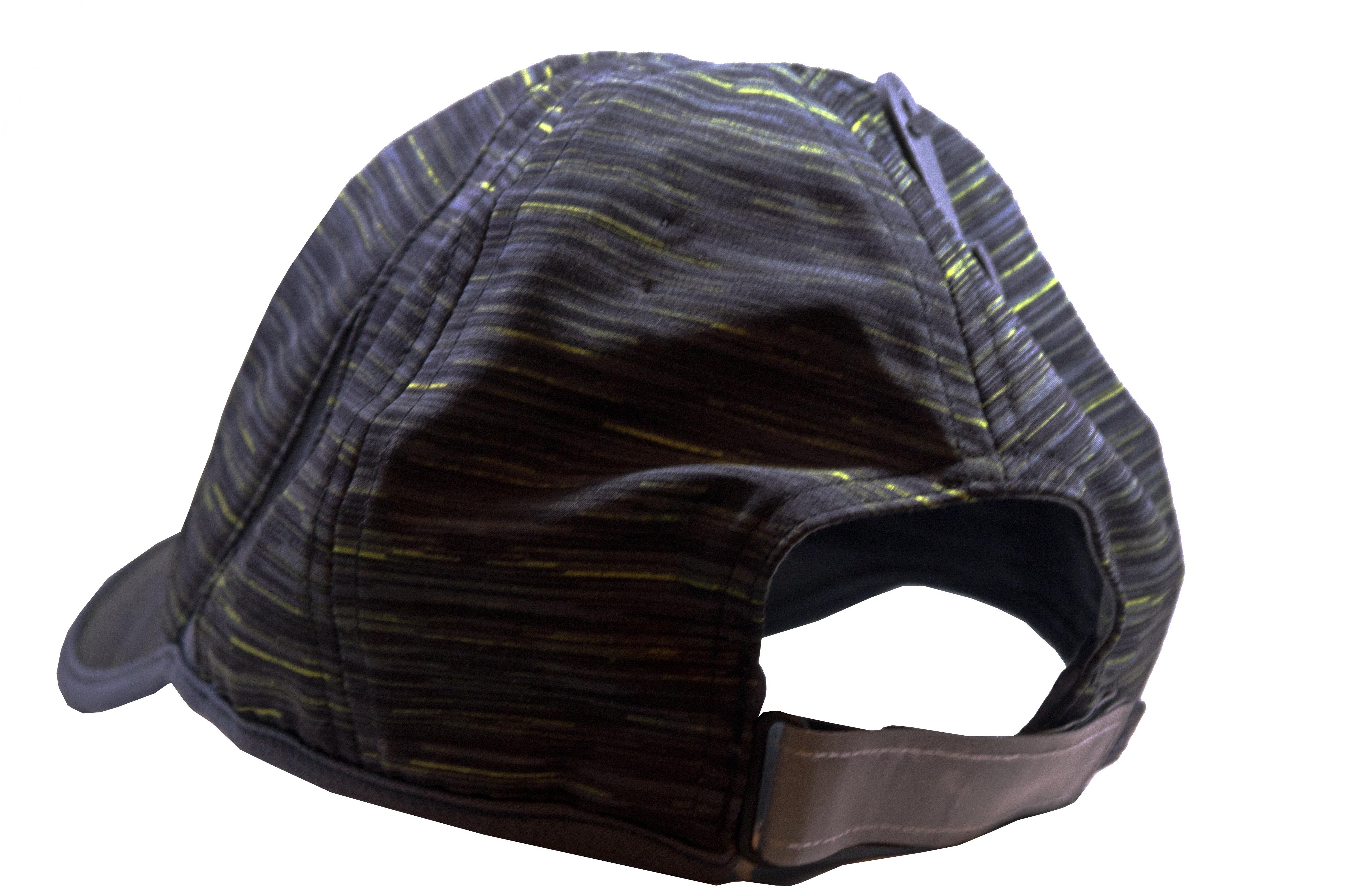adidas Men's Adizero Urban Sky/Black Space Dye Print Extra Relaxed Hat