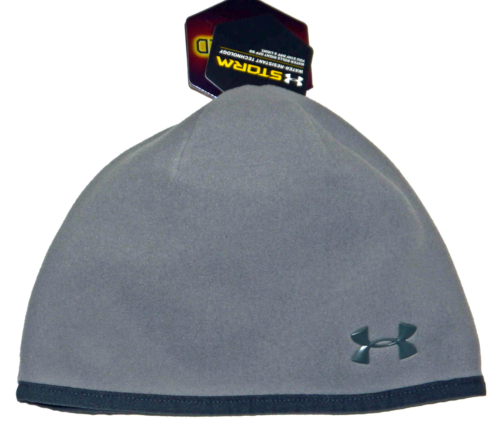 Under Armour STORM Infrared Women's Steeple Gray/Phantom Gray UA Beanie Hat 14610