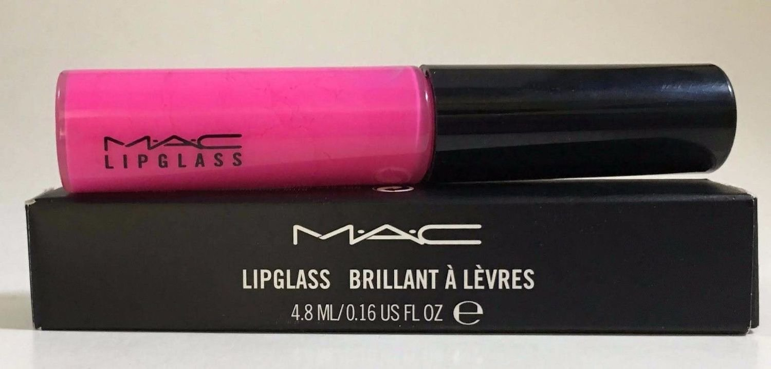 MAC Tinted Lipglass Lip Gloss 0.16 oz -Candy Yum-Yum