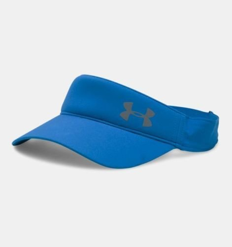 Under Armour Women's Fly Fast Mediterranean/Reflective UA Adjustable Visor 14644