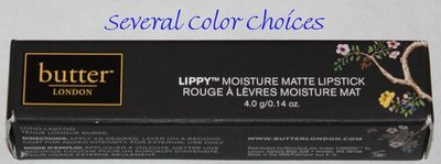 Butter London LIPPY Moisture Matte Lipstick .14 oz -Several Shades