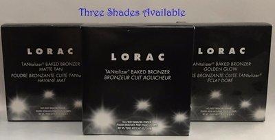 LORAC TANtalizer Baked Bronzer 0.31 oz - Matte Tan