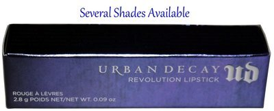 Urban Decay Revolution Lipstick 0.09 oz (Several Shades)