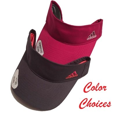 adidas Women's Climalite Squad Adjustable Visor -2 Colors Available